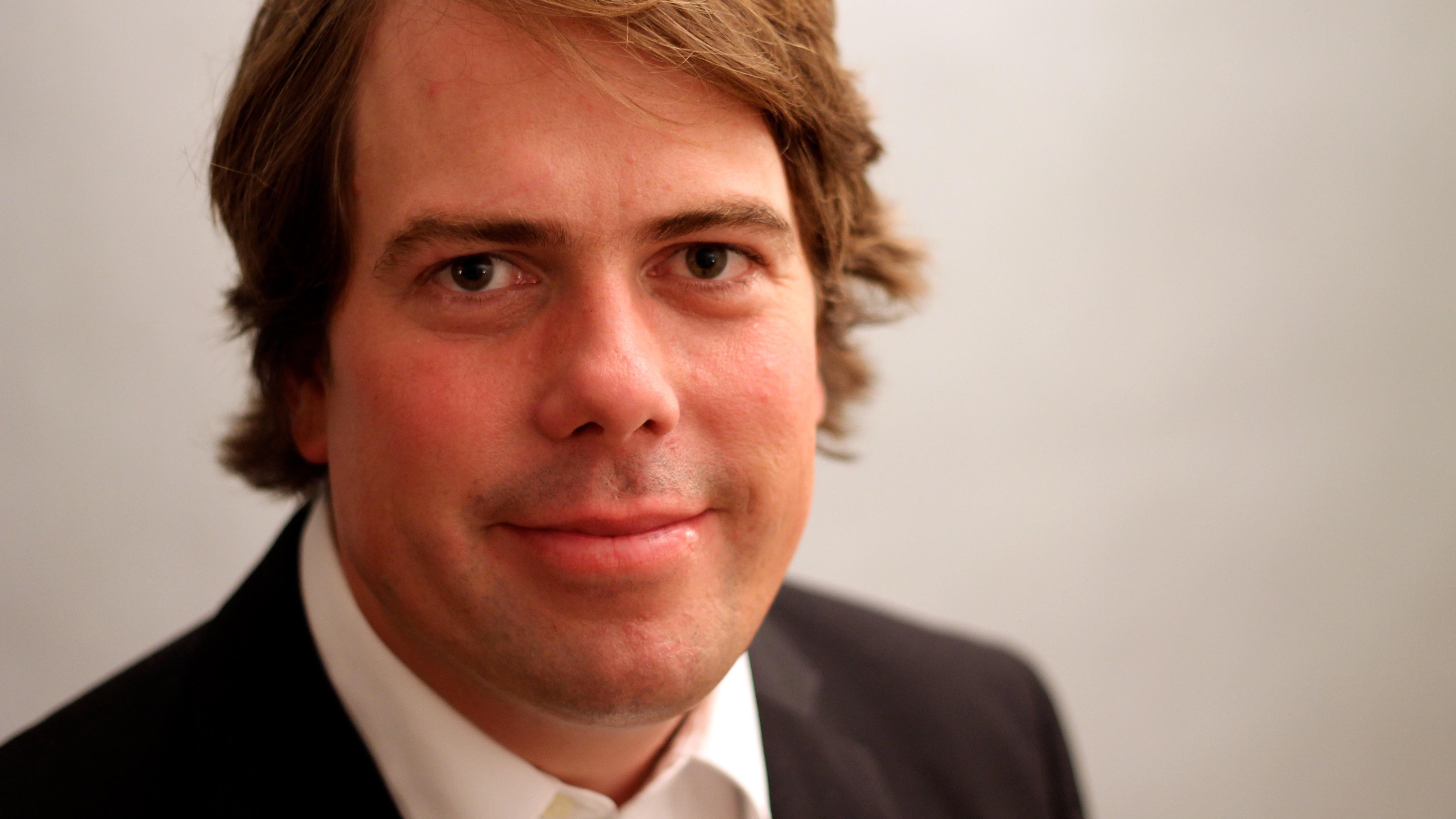 Martin Heller. An der Springer Akademie für den Bereich Crossmedia zuständig.