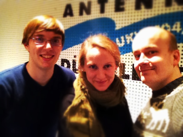 Die Sendung mit dem Internet. Henning Bulka, Sabine Piel und Daniel Fiene
